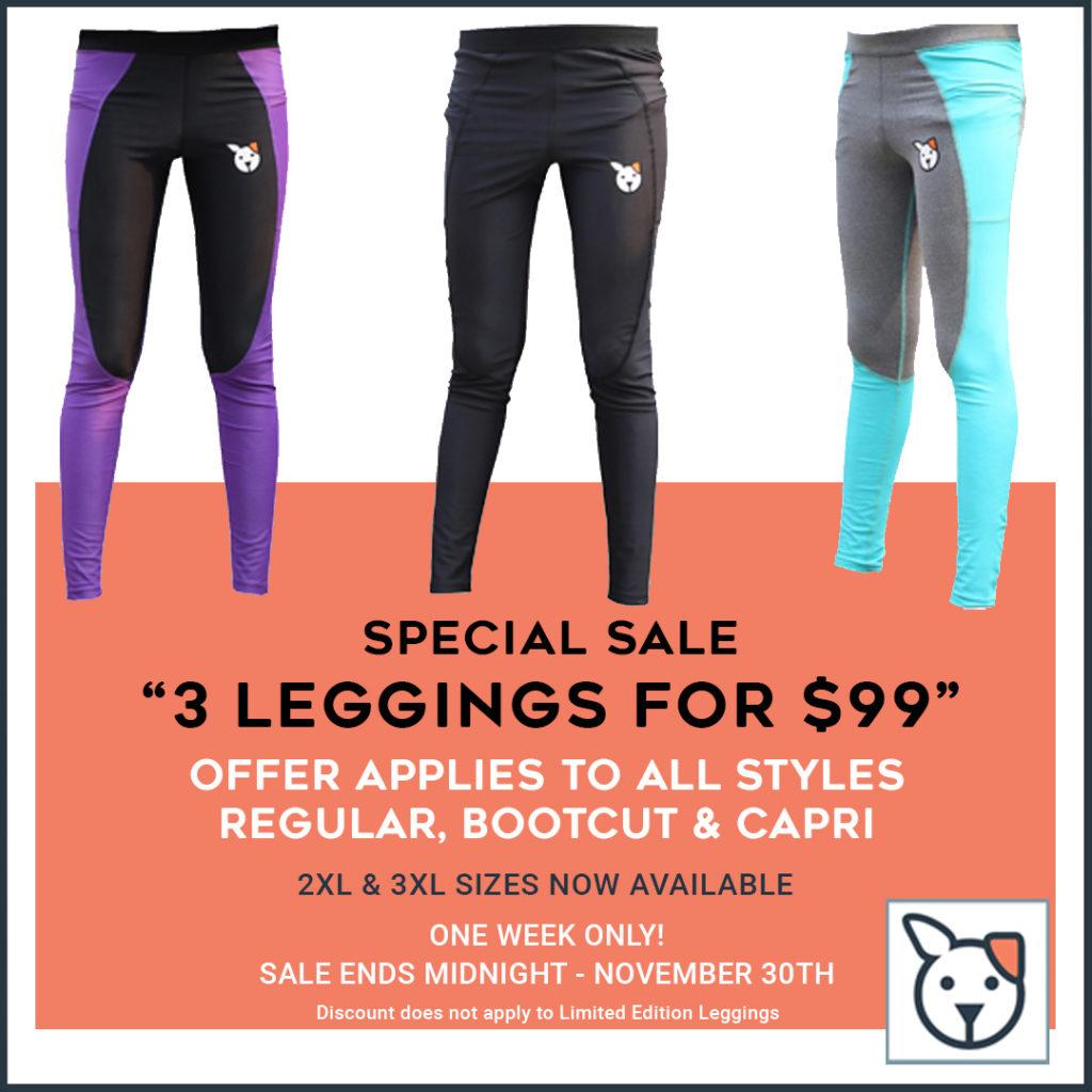3 For 99 Grooming Leggings