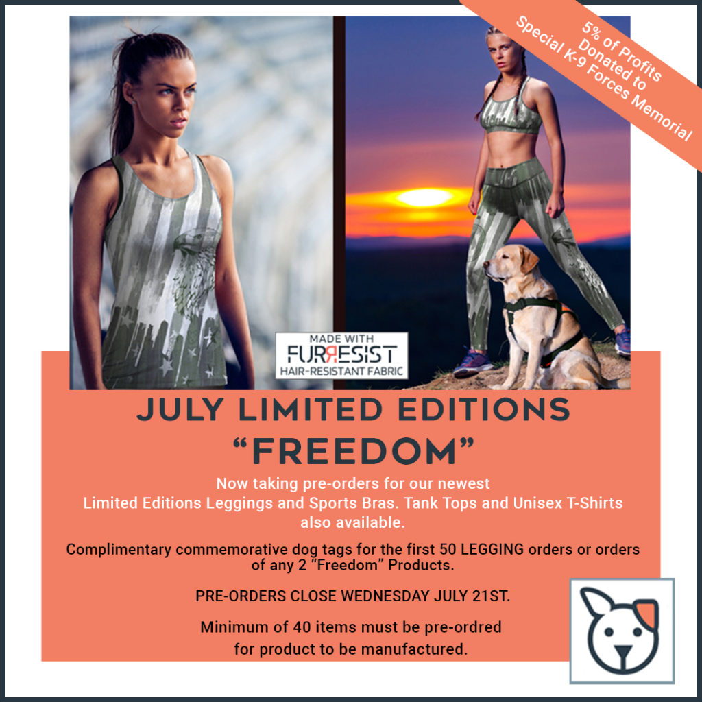 Freedom Series - Legging of Month - July 2021