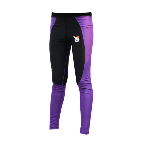Black and Purple Dog Grooming Pants